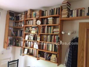 Estanterías para libros de madera pino maciza