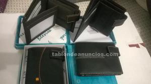 Cinturones,carteras y monederos de piel nuevos