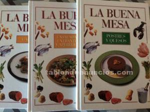 La buena mesa, libros de cocina