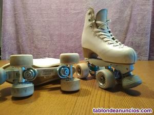 Vendo patines de artístico sobre ruedas