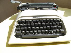 Máquina de escribir manual olivetti