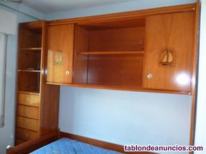 Dormitorio juvenil modelo barco