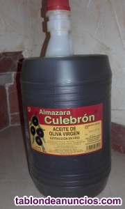 Se vende aceite de oliva virgen extra