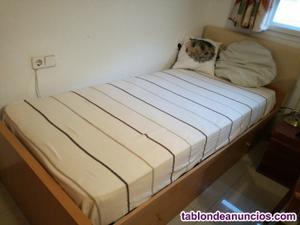 Vendo cama nido con colchón