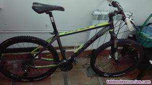 Bicicleta bh expert 27,5 talla l