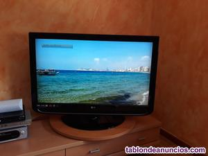 Vendo tv lg de 42 con dvr integrado (grabador)