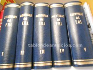 Aventuras del fbi (completa en 5 tomos)