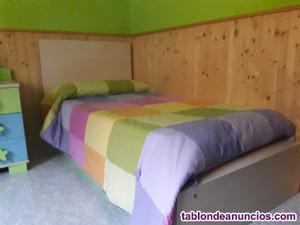 Cuna convertible o habitacion de niño