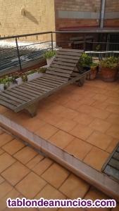Hamacas jardin en madera de teka