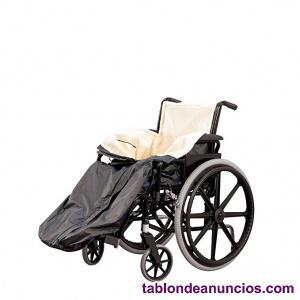 Saco con borreguillo para personas en silla de ruedas
