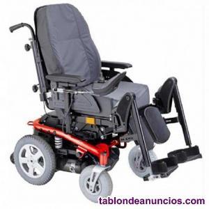 Vendo silla de ruedas electrica bora plus con extras