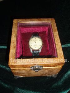 Caja para reloj de pulsera