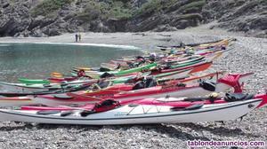Kayak fibra de vídrio/carbono