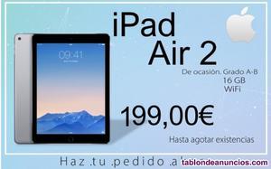 Ipad air 2 - 16gb - wifi - excelente estado
