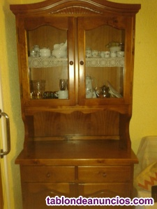 Mueble comedor clasico madera maciza