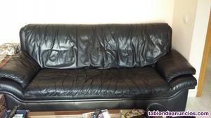 Sofa piel vaca