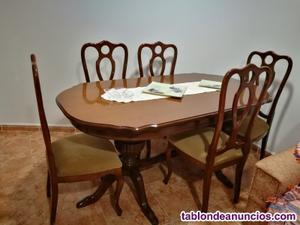 Mueble comedor,sillón 3plazas,mesa comedor+6sillas