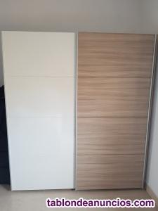 Venta de 2 armarios de habitación