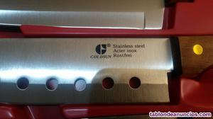 Juego de cuchillos cocina nuevo de la marca goldsun rostfrei
