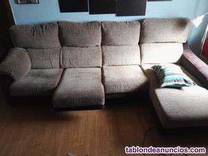 Sofá 3 plazas + chaise longue
