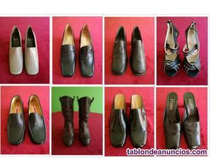 Pack de 8 zapatos para mujer en buen estado, casi nuevos