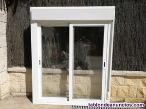 Vendo 2 ventanas de pvc con persianas.
