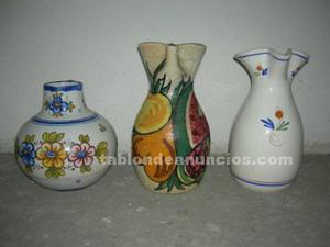 Vendo 3 jarras de ceramica de toledo y talavera de la reina