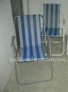 Vendo dos sillas de playa