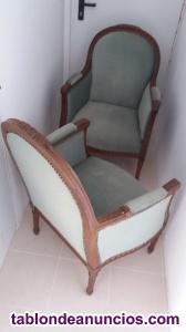 Dos sillones antiguos restaurados