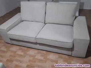 Se vende sofá 2 plazas en perfectas condiciones