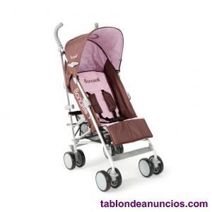 Silla de paseo nueva bonarelli 101 chocolate/rosa