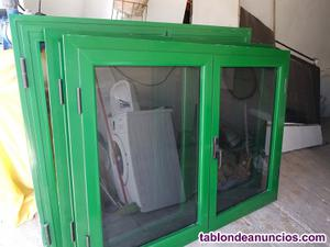 Se vende varias ventanas de alumio varias medidas.solo para