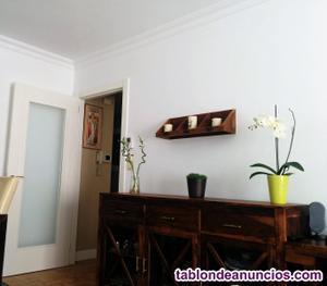Aparador y tv mueble colonial de madera