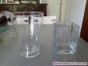 Bomboneras de cristal para mesa dulce