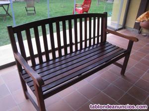 Conjunto exterior madera tropical calidad