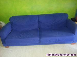 Vendo sofa 4 plazas y puff