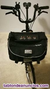 Brompton black edition 6 velocidades