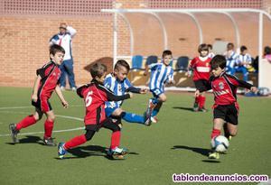 Buscamos niños y niñas para equipo de futbol
