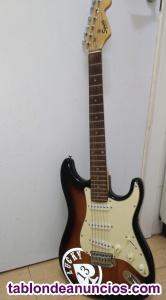 Fender squier stratocaster vendo o cambio