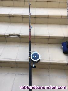 Carretes y cañas pesca de altura