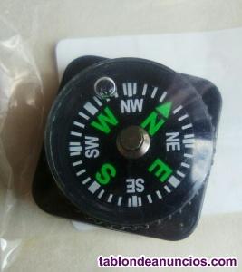 Brújula para correa de reloj.