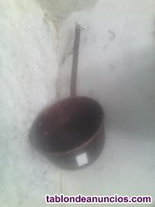 Potes antigüos de cobre