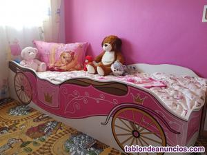 Se vende cama de princesa