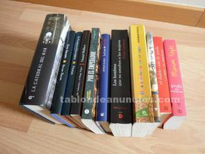 Lote de novelas, precios variados