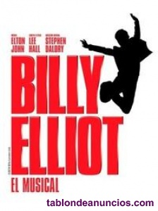 Entradas billy elliot sábado 7 de julio a las 21 horas