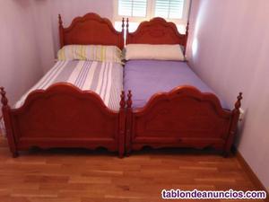 Dos camas y colchones