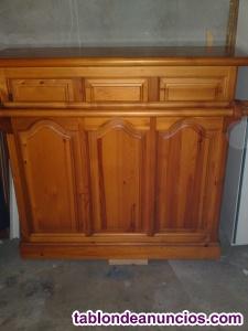 Mueble madera maziza