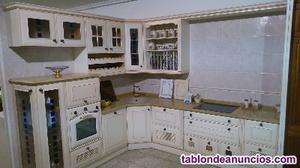 Liquidación cocina exposición electrodomésticos mepamsa
