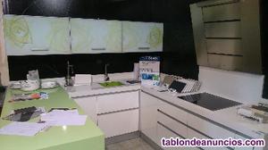 Liquidación cocina exposición laminado