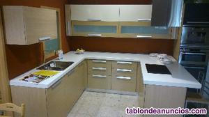 Liquidación cocina exposición postformado